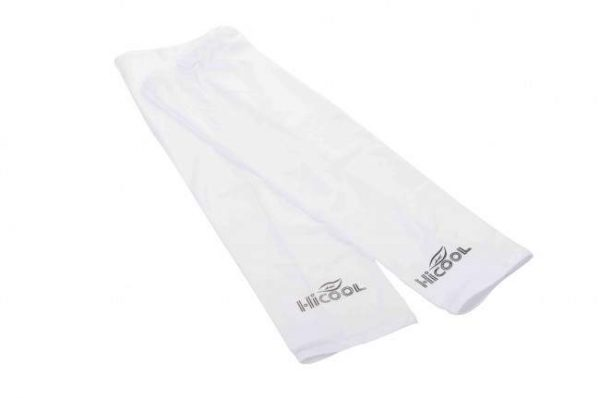 White UV Protection Sun Sleeve 1