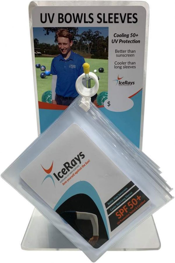Ice Rays Cooling Sleeves ( White) 1