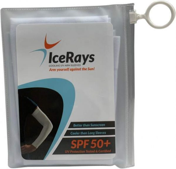 Ice Rays Cooling Sleeves ( White) 2