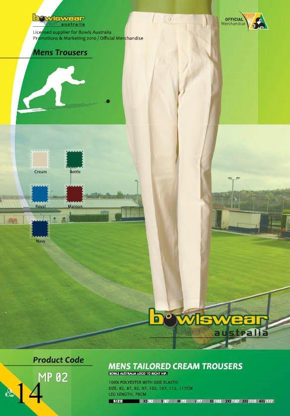 Bowlswear Australia Tailored Pants 2