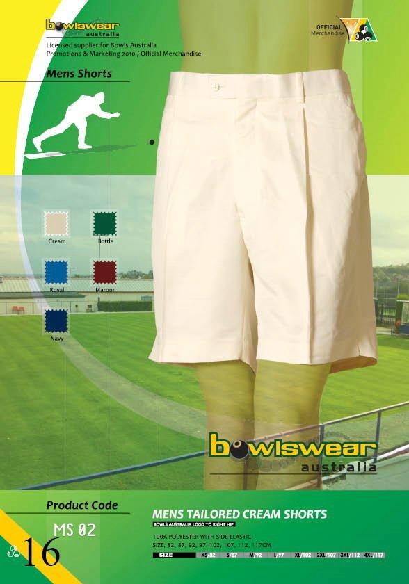 Bowlswear Australia Tailored Shorts 5