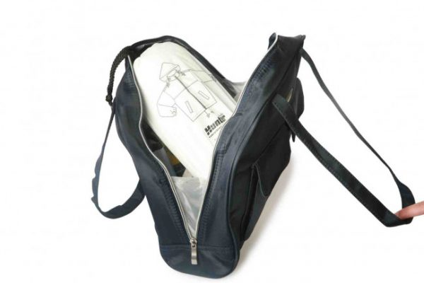 Navy Lawn Bowls Handbag 7