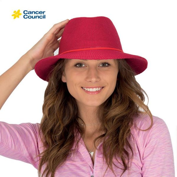 CANCER COUNCIL Jacqui Ladies Mannish Style Hat (RL73) 1