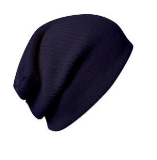 Beanie With Tone on Tone BA Logo 5