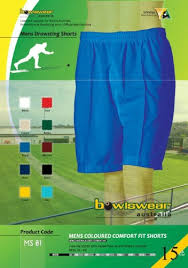 Bowlswear Australia Drawstring Shorts 4