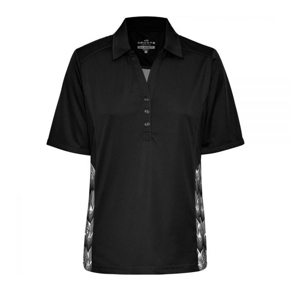 DRISPORTE LILY POLO BLACK (With BA Logo) 1