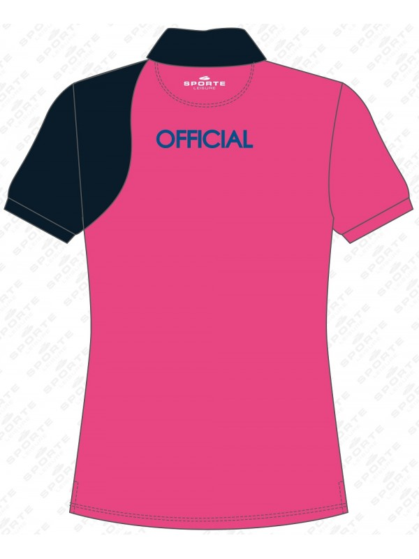 WOMEN'S BOWLS NSW OFFICIAL SHORT SLEEVE POLO SHIRT 2