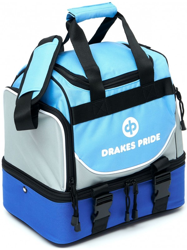 "DRAKES PRIDE 'NEW & IMPROVED"" PRO MIDI LAWN BOWLS BAG Incl INSERT BAGS 4"