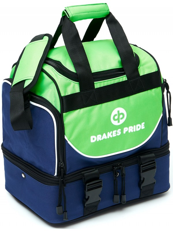 "DRAKES PRIDE 'NEW & IMPROVED"" PRO MIDI LAWN BOWLS BAG Incl INSERT BAGS 3"