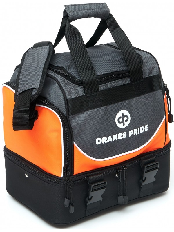 "DRAKES PRIDE 'NEW & IMPROVED"" PRO MIDI LAWN BOWLS BAG Incl INSERT BAGS 2"