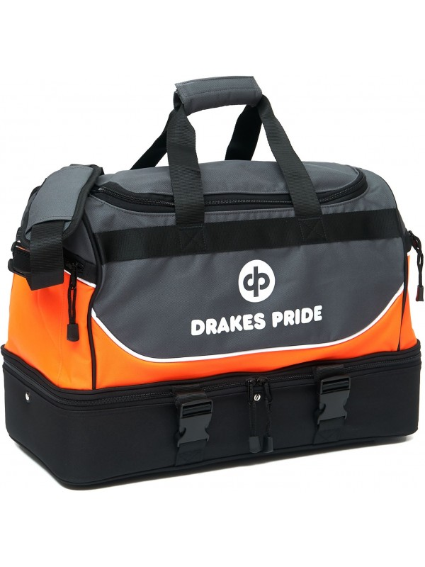 """DRAKES PRIDE """"NEW & IMPROVED"""" PRO MAXI LAWN BOWLS BAG Incl INSERT BAGS 3"""