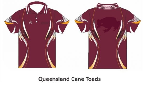 Unisex Rugby League State of Origin Tournament Shirts 3