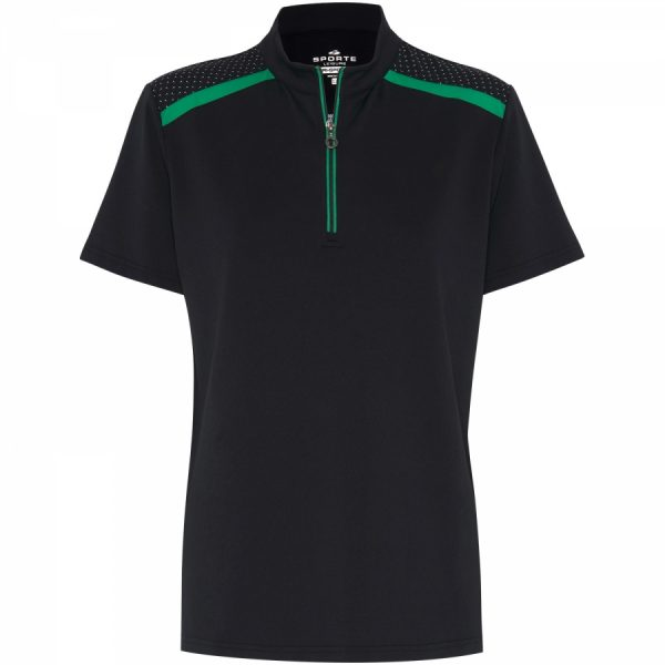 DRISPORTE TIA ZIP POLO (With BA Logo) 1