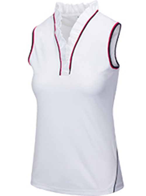LUCINA SLEEVELESS POLO (With BA Logo) 1