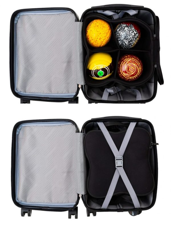 4 WHEEL TROLLEY BAG - PLAIN 6