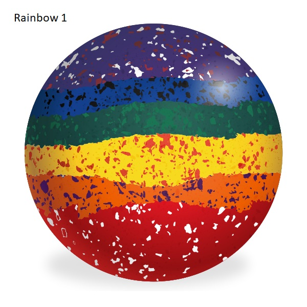 Aero Custom Bowls - Rainbow Colours 2