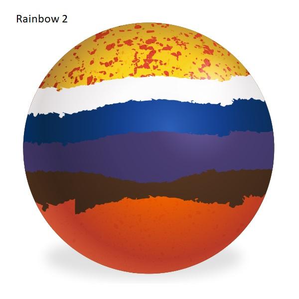 Aero Custom Bowls - Rainbow Colours 3