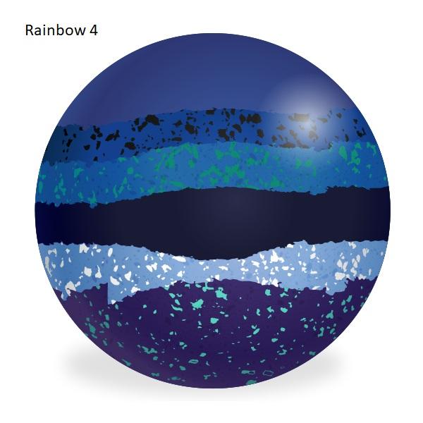 Aero Custom Bowls - Rainbow Colours 5