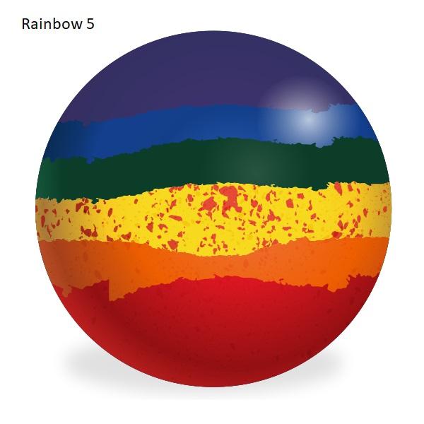 Aero Custom Bowls - Rainbow Colours 6